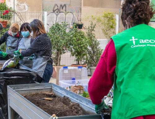 """Seguimos comprometidos con el proyecto solidario """"Huerto Urbano"""" de la AECC"""