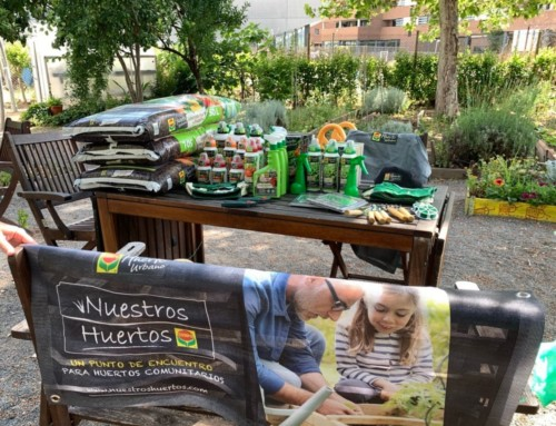 Nuestros Huertos, presente en algunos huertos de España